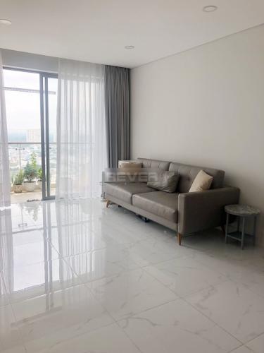 Phòng khách căn hộ An Gia Skyline, Quận 7 Căn hộ chung cư An Gia Skyline tầng cao, nội thất cơ bản.