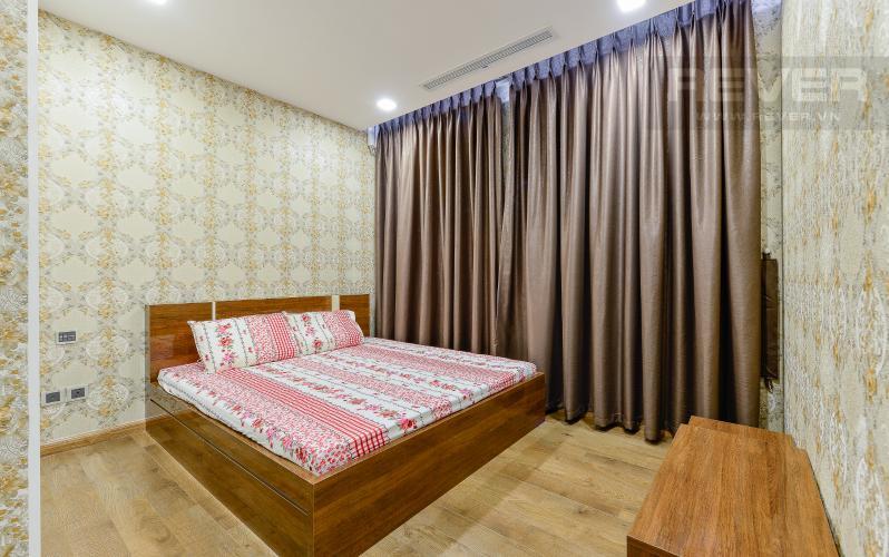 phòng ngủ 2 Căn hộ Vinhomes Central Park tầng cao Park 6 thiết kế hiện đại, sang trọng