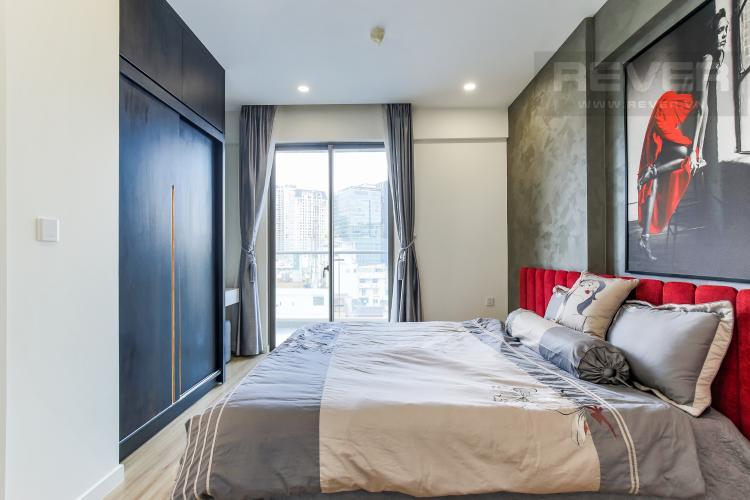 Phòng Ngủ 1 Cho thuê căn hộ Masteri Millennium 3PN, diện tích 107m2, đầy đủ nội thất, view Bitexco