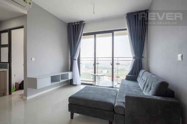 Phòng Khách Căn hộ Estella Heights 2 phòng ngủ tầng trung T2 đầy đủ nội thất