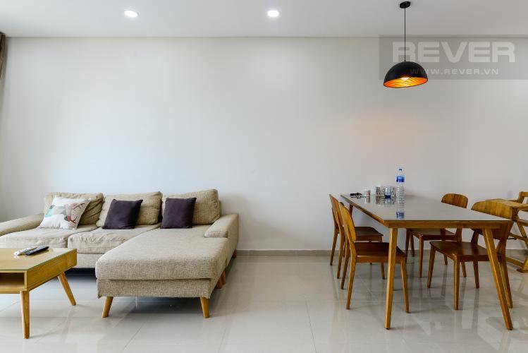 Phòng Ăn Cho thuê căn hộ Vista Verde 2PN, tầng cao, đầy đủ nội thất, view Quận 2
