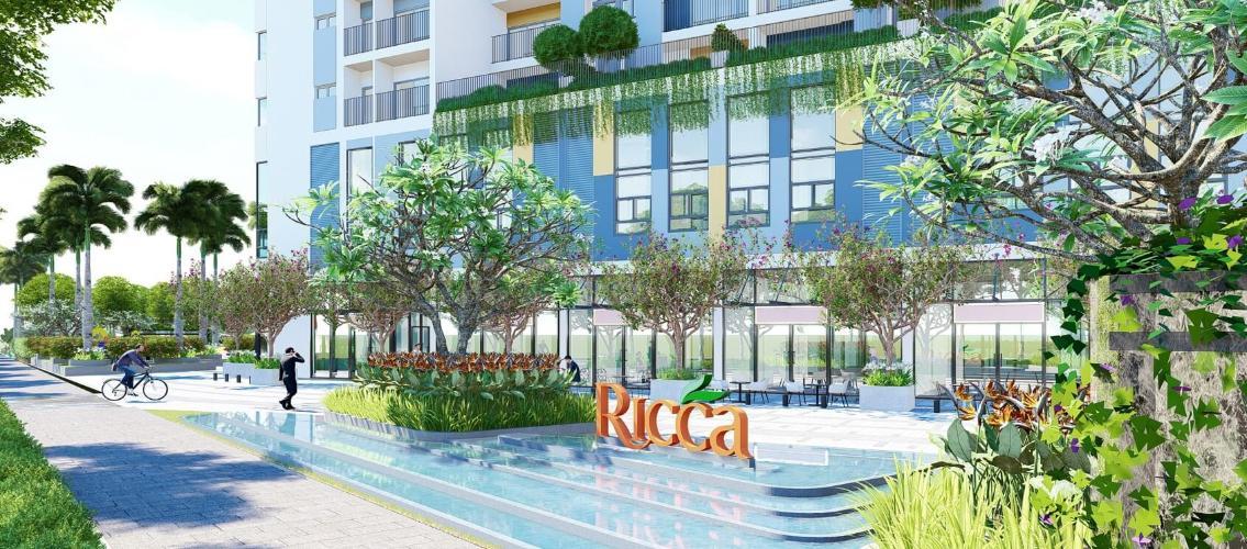 Phối Cảnh Căn Hộ Ricca Bán căn hộ Ricca 1PN+1, tầng thấp,, block A, không nội thất, chưa bàn giao