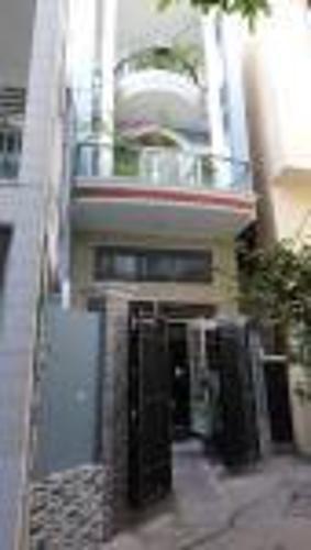 Bán nhà phố hẻm 2 tầng đường Vạn Kiếp, Q. Bình Thạnh, diện tích đất 44.8m2, sổ hồng pháp lý đầy đủ.