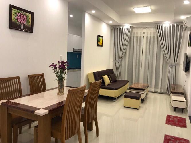 Phòng khách và phòng ăn FLORITA Q7 Bán căn hộ Florita 2 phòng ngủ, tầng 16, diện tích 58m2, đầy đủ nội thất