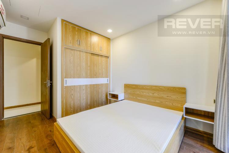 Phòng ngủ 2 Căn hộ Vinhomes Central Park 2 phòng ngủ tầng thấp P7 view nội khu