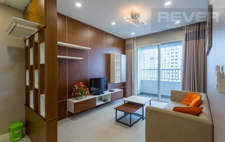 Tổng Quan Bán và cho thuê căn hộ Lexington Residence tầng cao, tháp LA, 2PN, đầy đủ nội thất