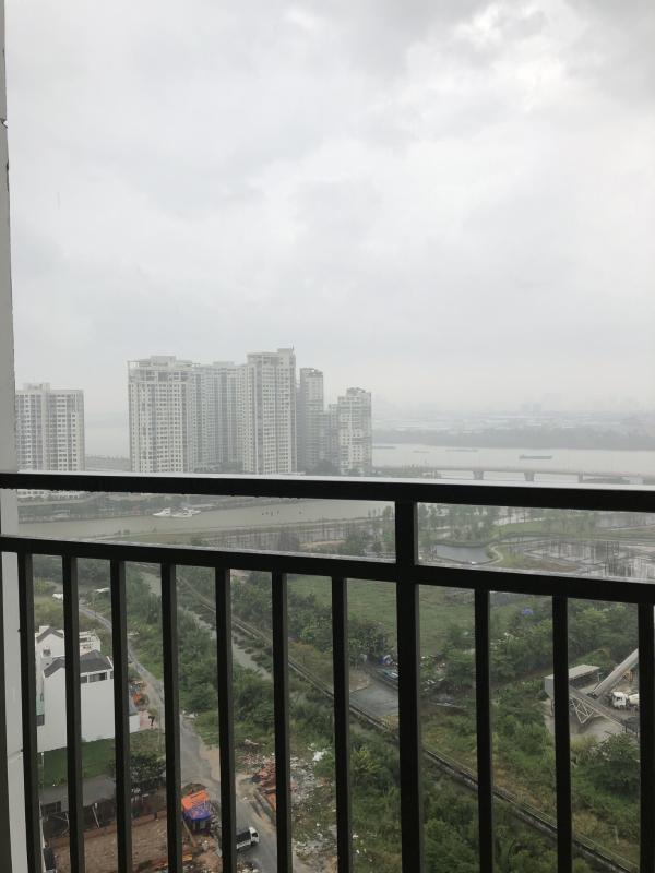 View Bán căn hộ The Sun Avenue 2PN, block 1, diện tích 76m2, đầy đủ nội thất, view sông