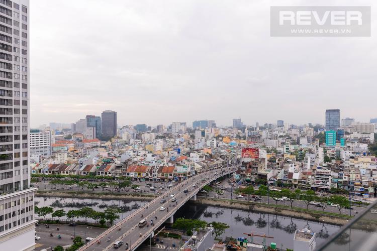 View Căn hộ Masteri Millennium tầng cao, 1PN, đầy đủ nội thất, view đẹp