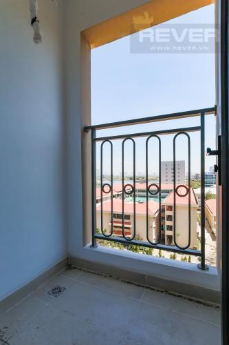 Balcony Cho thuê căn hộ Saigon Royal hướng Đông Bắc, 43m2 1PN 1WC, view thành phố