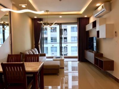 Bán căn hộ The Gold View 2PN, tầng trung, đầy đủ nội thất, hướng cửa Tây Nam