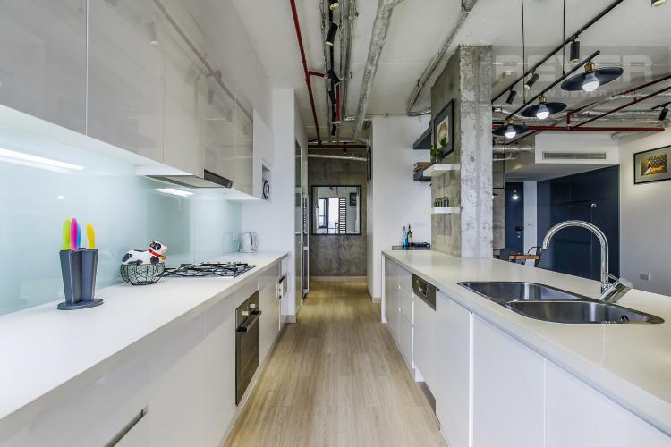 Phòng Bếp Bán căn hộ City Garden 2 phòng ngủ diện tích lớn, đầy đủ nội thất, view Landmark 81