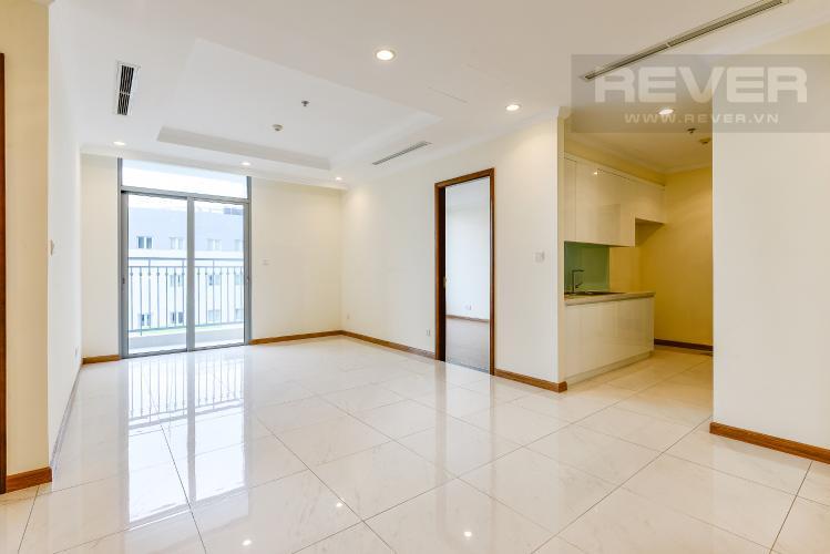 Phòng khách Căn hộ Vinhomes Central Park 3 phòng ngủ tầng thấp Central 1