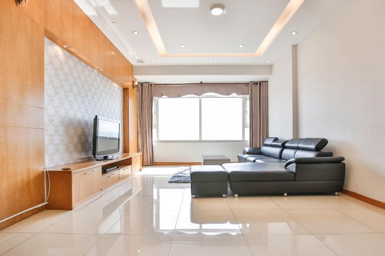 Căn góc Saigon Pearl tầng cao Sapphire 2 đầy đủ nội thất, nhiều tiện ích