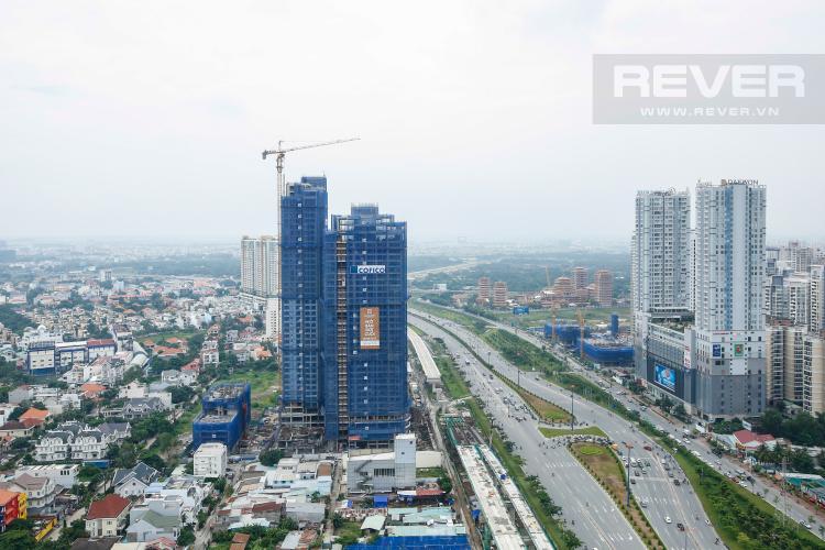 View Căn hộ Masteri Thảo Điền 2 phòng ngủ tầng cao T5 nhà trống