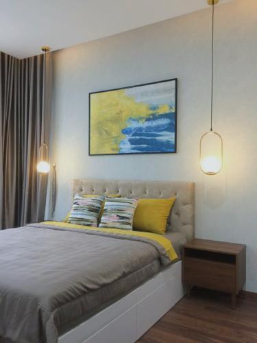 PHÒNG NGỦ 2 căn hộ One Verandah Căn hộ One Verandah đầy đủ nội thất, view thành phố và sông.