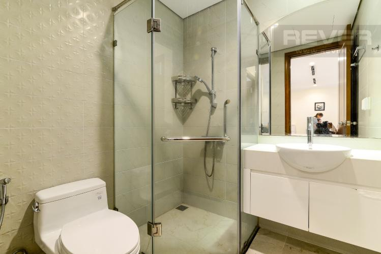 Phòng Tắm Cho thuê căn hộ Vinhomes Central Park 1PN, đầy đủ nội thất, view mé sông Sài Gòn