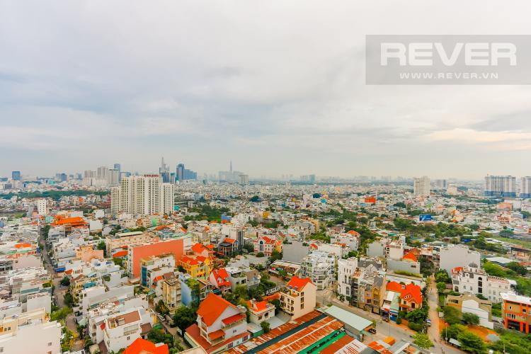 View Căn hộ Hoàng Anh Thanh Bình 3 phòng ngủ tầng cao tháp B view toàn cảnh