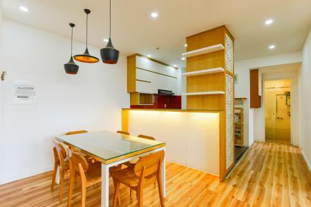 Căn hộ tầng cao chung cư Bình Khánh thiết kế đẹp, đầy đủ tiện nghi