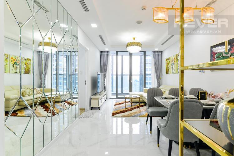 9b86edcc65cf8391dade Cho thuê căn hộ Vinhomes Central Park 2PN, tháp Landmark 81, đầy đủ nội thất, hướng Đông Nam, view hồ bơi