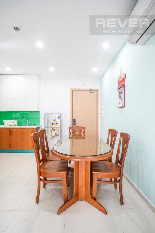 bàn ăn Cho thuê căn hộ M-One Nam Sài Gòn 3PN, tầng 9, tháp T1, đầy đủ nội thất, view thoáng