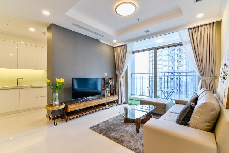 Căn hộ Vinhomes Central Park 3 phòng ngủ tầng cao L6 nội thất có sẵn