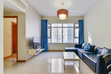 Căn hộ Saigon Pearl 2 phòng ngủ tầng thấp R2 nội thất đầy đủ