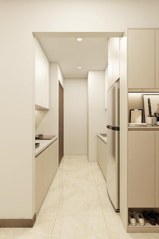 Phòng Bếp Cho thuê căn hộ HaDo Centrosa Garden 2 phòng ngủ, diện tích 85m2, đầy đủ nội thất