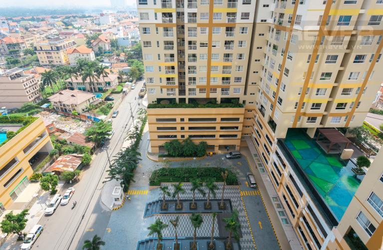 View Căn hộ Tropic Garden 2 phòng ngủ tầng trung, view nội khu