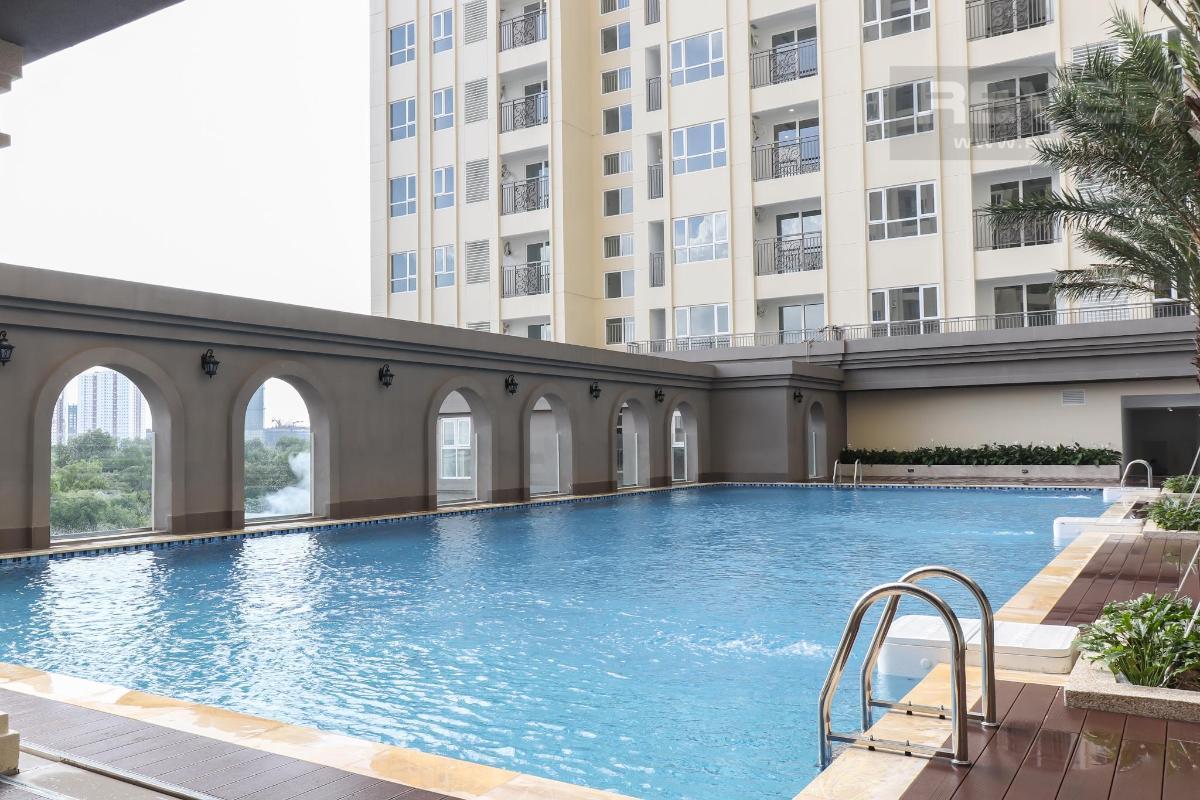 8fa460d1557db223eb6c Cho thuê căn hộ Saigon Mia 2 phòng ngủ, diện tích 72m2, nội thất cơ bản, view khu dân cư