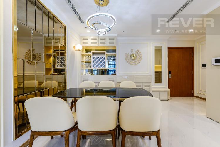 Bàn ăn Căn góc Vinhomes Central Park 3 phòng ngủ tầng trung Landmark 5