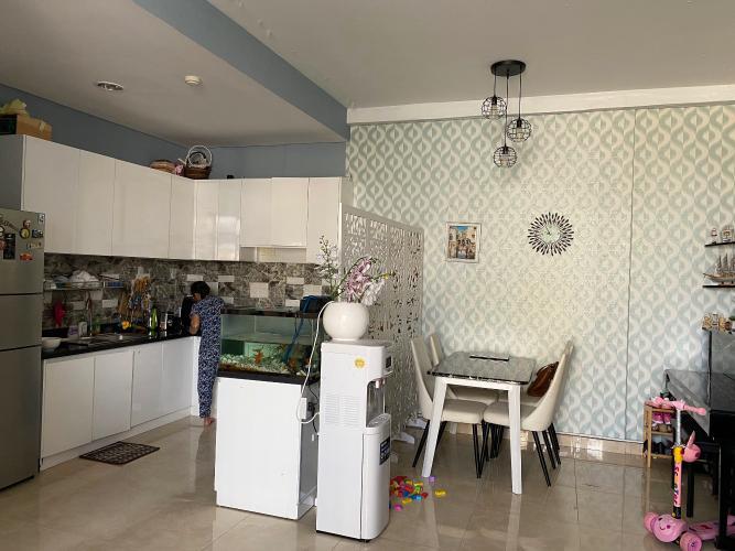 Phòng bếp Luxcity Quận 7 Căn hộ Luxcity đầy đủ nội thất, ban công thoáng mát.