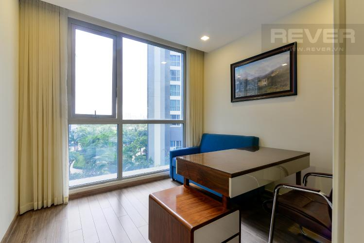 Phòng Làm Việc Cho thuê căn hộ Vinhomes Central Park 3PN, tháp Park 7, đầy đủ nội thất, view hồ bơi