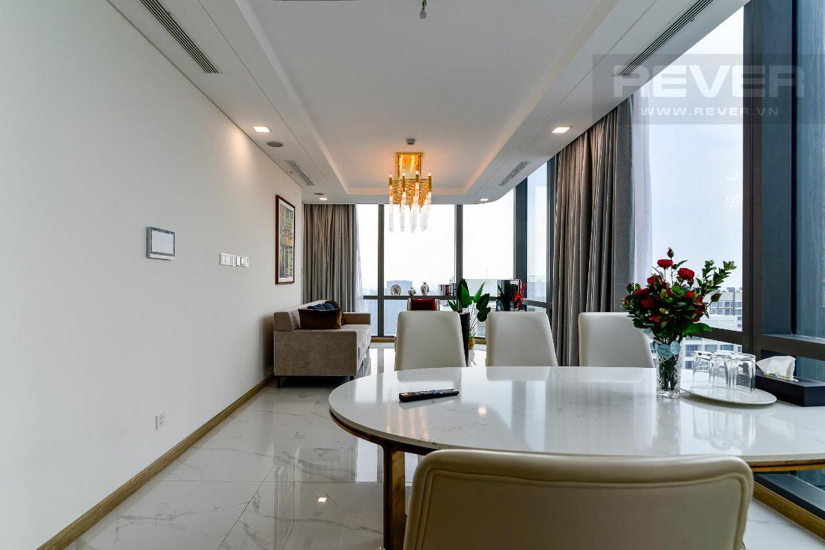 Phòng Khách 4 Bán hoặc cho thuê căn hộ Vinhomes Central Park 4PN, tháp Landmark 81, diện tích 164m2, đầy đủ nội thất, căn góc view thoáng