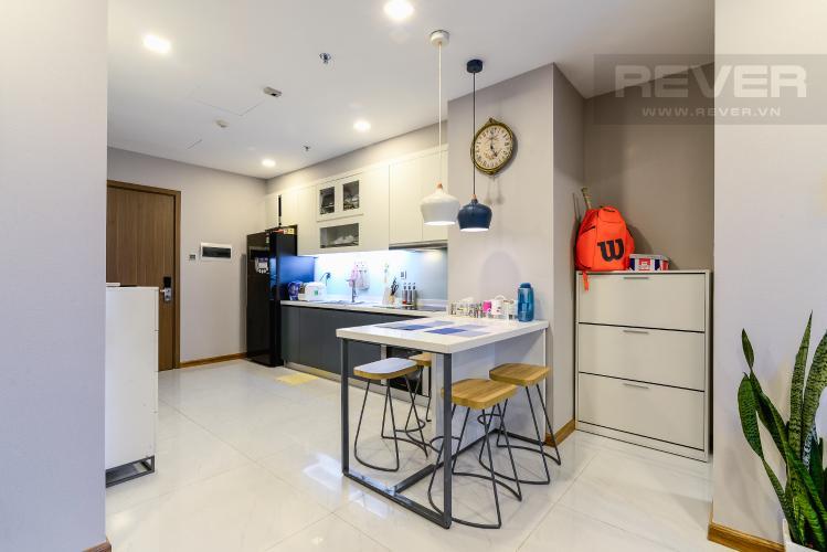 Phòng Ăn & Bếp Căn hộ Vinhomes Central Park tháp Park 6, 2PN, đầy đủ nội thất