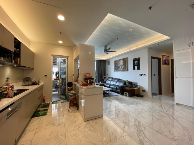 Căn hộ Sarica Condominium đầy đủ nội thất tiện ích, hướng Nam.