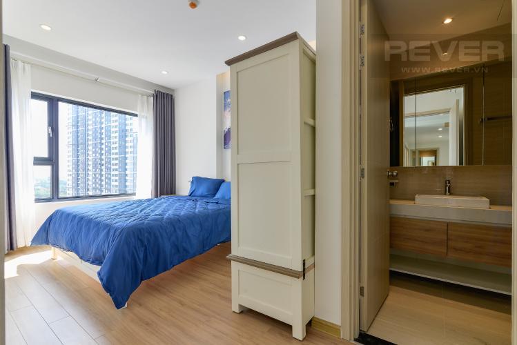 Phòng Ngủ 1 Cho thuê căn hộ New City Thủ Thiêm 85m2 gồm: 3PN 2WC, hướng Đông Bắc, view nội khu