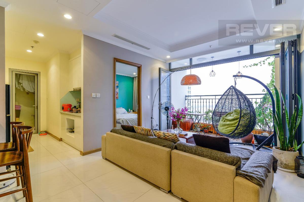 09262b1577418e1fd750 Bán căn hộ Vinhomes Central Park 3PN, đầy đủ nội thất, view sông và nội khu