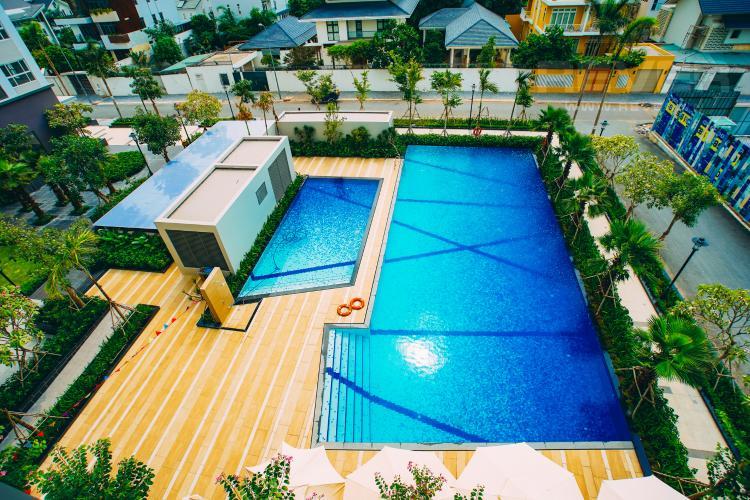 View Hồ Bơi Cho thuê căn hộ Sunrise Riverside 3PN, view nội khu yên tĩnh, mát mẻ