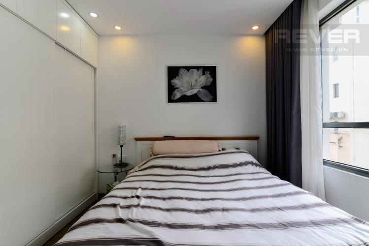 Phòng Ngủ 1 Cho thuê căn hộ The Gold View 2PN, tầng trung tháp A, đầy đủ nội thất, hướng Tây Nam