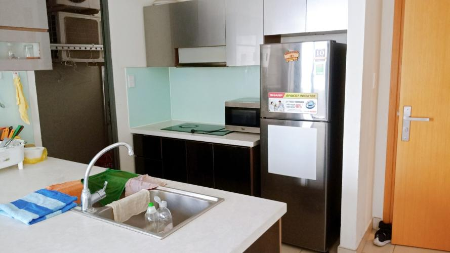 bếp căn hộ Masteri Thảo Điền Căn hộ đầy đủ nội thất Masteri Thảo Điền view sông.