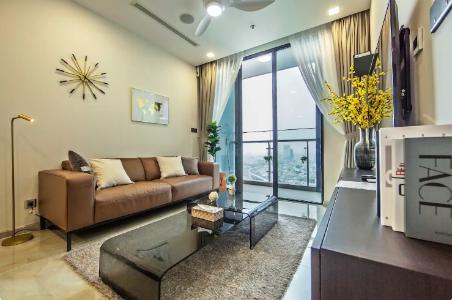 Bán officetel Vinhomes Golden River 1PN, tháp The Aqua 3, diện tích 49m2, đầy đủ nội thất