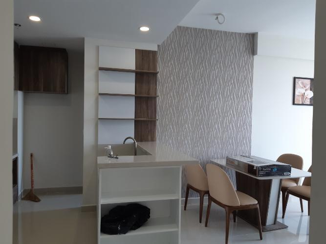 Phòng ăn và bếp căn hộ RiverGate Residence Cho thuê căn hộ RiverGate Residence 2 phòng ngủ, diện tích 74m2, đầy đủ nội thất, view thành phố