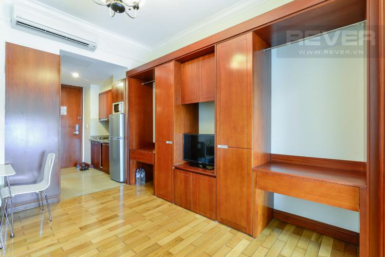 Phòng Khách Căn hộ The Manor 2 tầng cao phòng ngủ đầy đủ nội thất