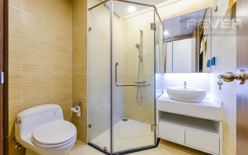 phòng tắm 1 Căn hộ 2 phòng tại The Park 6 Vinhomes Central Park đầy đủ nội thất