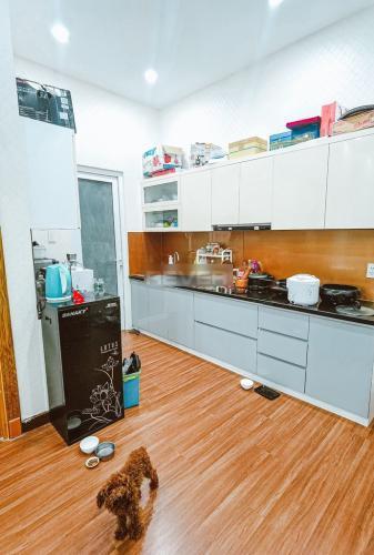 Phòng bếp căn hộ Khang Gia Chánh Hưng, Quận 8 Căn hộ chung cư Khang Gia Chánh Hưng tầng 14 view thành phố tuyệt đẹp.
