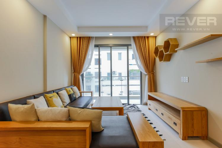 Phòng Khách Căn hộ The Gold View tầng trung tháp A1, 80m2, 2 phòng ngủ, 1WC, view sông.