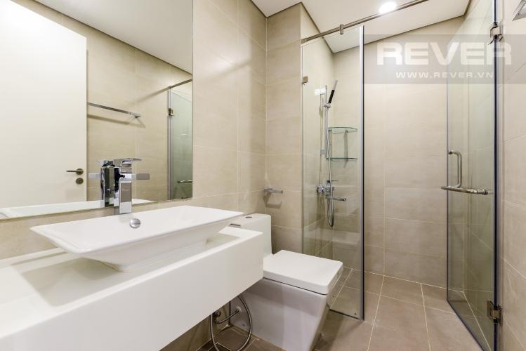 Phòng tắm 2 Cho thuê căn hộ Masteri Millennium tầng cao 2PN đầy đủ nội thất view đẹp