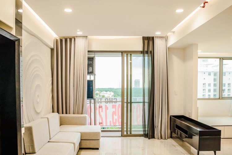 Bán căn hộ Happy Residence 3PN, tầng thấp, block A, đầy đủ nội thất, view mặt phố