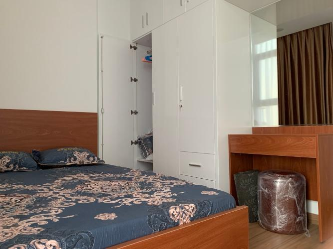 Phòng ngủ Eco Green1 Căn hộ Eco Green Sài Gòn tầng trung, đầy đủ nội thất, view thành phố.