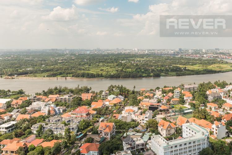 View Cho thuê căn hộ Masteri Thảo Điền tầng cao, 2PN, đầy đủ nội thất, view sông